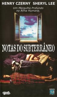 Notas do Subsolo - Poster / Capa / Cartaz - Oficial 2