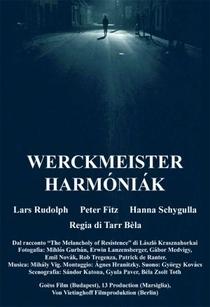 As Harmonias de Werckmeister - Poster / Capa / Cartaz - Oficial 1