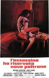 The Killer Reserved Nine Seats - Poster / Capa / Cartaz - Oficial 4