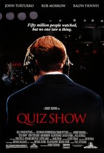 Quiz Show - A Verdade dos Bastidores - Poster / Capa / Cartaz - Oficial 1