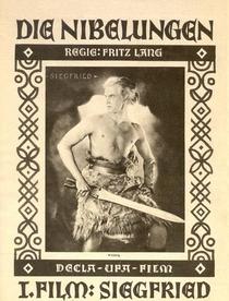 Os Nibelungos Parte 1 - A Morte de Siegfried - Poster / Capa / Cartaz - Oficial 1