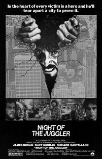 Night of the Juggler - Poster / Capa / Cartaz - Oficial 1