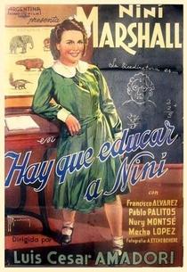 Hay que educar a Niní - Poster / Capa / Cartaz - Oficial 1