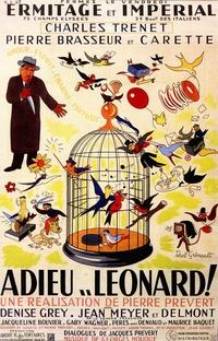 Adeus, Léonard - Poster / Capa / Cartaz - Oficial 1