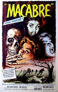 Macabro - Poster / Capa / Cartaz - Oficial 1