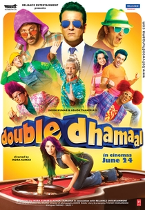 Double Dhamaal - Poster / Capa / Cartaz - Oficial 3