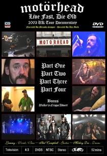 Motörhead: Live Fast, Die Old - Poster / Capa / Cartaz - Oficial 1