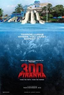 Piranha 2 - Poster / Capa / Cartaz - Oficial 3