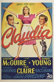 Claudia - Poster / Capa / Cartaz - Oficial 1
