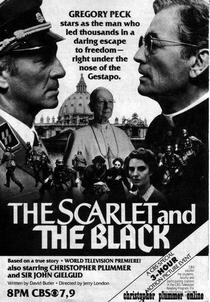 O Escarlate e o Negro - Poster / Capa / Cartaz - Oficial 6