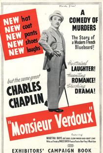 Monsieur Verdoux - Poster / Capa / Cartaz - Oficial 6