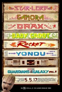 Guardiões da Galáxia Vol. 2 - Poster / Capa / Cartaz - Oficial 4