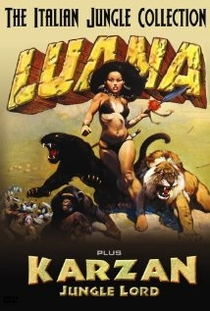 Luana, a Filha da Floresta - Poster / Capa / Cartaz - Oficial 1