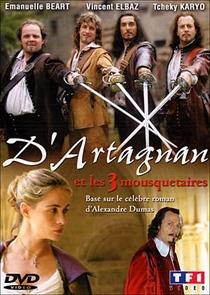 D'Artagnan e os três mosqueteiros - Poster / Capa / Cartaz - Oficial 1