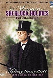 As Memórias de Sherlock Holmes - Poster / Capa / Cartaz - Oficial 1