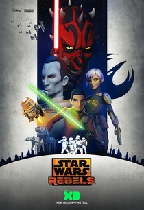 Star Wars Rebels (3ª temporada) - Poster / Capa / Cartaz - Oficial 1