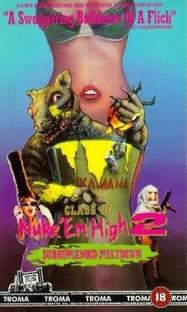 Class of Nuke'Em High 2 - Poster / Capa / Cartaz - Oficial 1