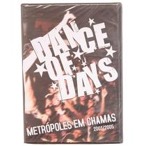 Dance Of Days: Metrópoles Em Chamas  - Poster / Capa / Cartaz - Oficial 1