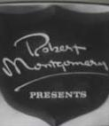 Robert Montgomery Presents (1ª Temporada)  - Poster / Capa / Cartaz - Oficial 1