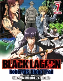 Black Lagoon: Roberta's Blood Trail - Poster / Capa / Cartaz - Oficial 1