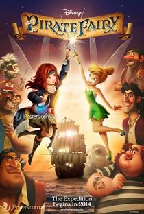 Tinker Bell: Fadas e Piratas - Poster / Capa / Cartaz - Oficial 2