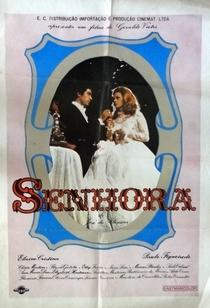 Senhora - Poster / Capa / Cartaz - Oficial 1