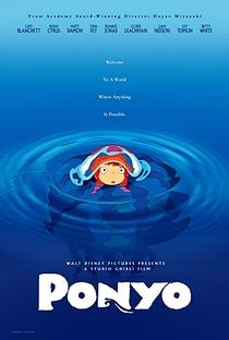 Ponyo: Uma Amizade que Veio do Mar - Poster / Capa / Cartaz - Oficial 6