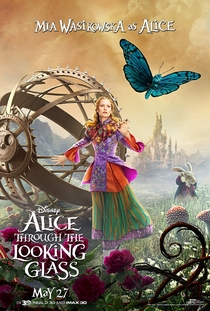Alice Através do Espelho - Poster / Capa / Cartaz - Oficial 19