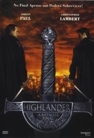 Highlander: A Batalha Final - Poster / Capa / Cartaz - Oficial 1