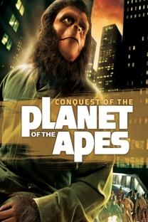 Conquista do Planeta dos Macacos - Poster / Capa / Cartaz - Oficial 2