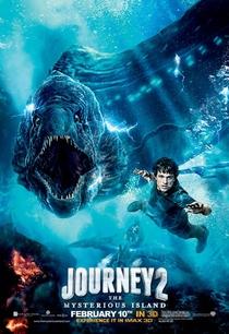 Viagem 2 - A Ilha Misteriosa - Poster / Capa / Cartaz - Oficial 3