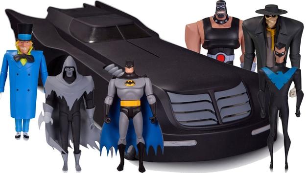 """Conheça a nova linha colecionável de """"Batman: The Animated Series"""""""