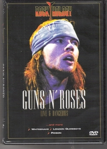 Guns N' Roses Live & Dangerous - Poster / Capa / Cartaz - Oficial 1