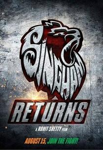 Singham Returns - Poster / Capa / Cartaz - Oficial 3