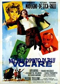No Azul Pintado de Azul - Poster / Capa / Cartaz - Oficial 1