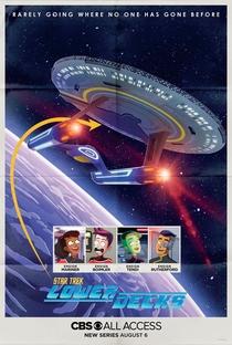 Star Trek: Lower Decks (1ª Temporada) - Poster / Capa / Cartaz - Oficial 1