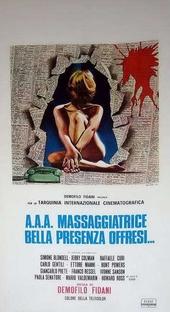 Massagista a Domicílio - Poster / Capa / Cartaz - Oficial 1