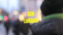Sign Language - Poster / Capa / Cartaz - Oficial 1