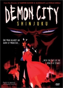 Demon City Shinjuku - Poster / Capa / Cartaz - Oficial 1