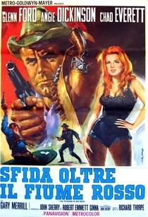 O Pistoleiro do Rio Vermelho - Poster / Capa / Cartaz - Oficial 6