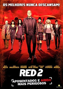 RED 2: Aposentados e Ainda Mais Perigosos  - Poster / Capa / Cartaz - Oficial 12