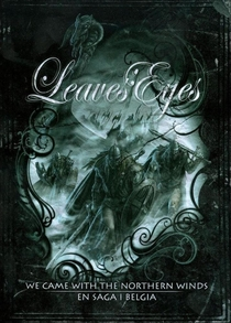 Leaves' Eyes - We Came with the Northern Winds - En Saga I Belgia - Poster / Capa / Cartaz - Oficial 1