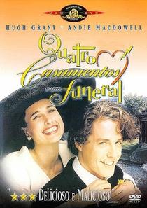Quatro Casamentos e Um Funeral - Poster / Capa / Cartaz - Oficial 7
