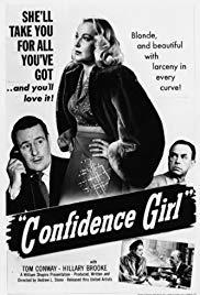 Confidence Girl - Poster / Capa / Cartaz - Oficial 3