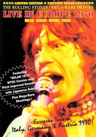 Rolling Stones - Europe '70 - Poster / Capa / Cartaz - Oficial 1