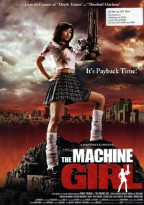 The Machine Girl - Poster / Capa / Cartaz - Oficial 4
