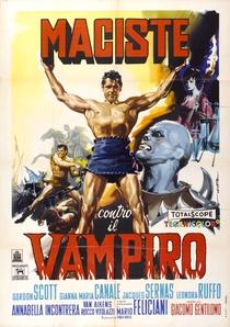 Maciste Contra o Vampiro  - Poster / Capa / Cartaz - Oficial 1