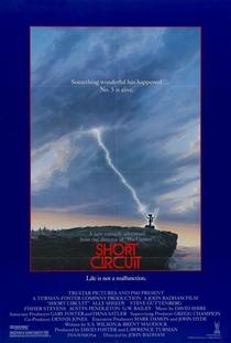Short Circuit: O Incrível Robô - Poster / Capa / Cartaz - Oficial 3