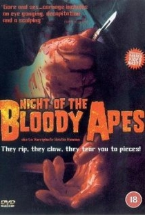 Night of the Bloody Apes - Poster / Capa / Cartaz - Oficial 1