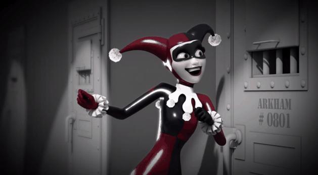 """Animação com Arlequina faz paródia com música de """"Frozen"""""""